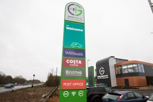 The UK's first bespoke electric forecourt arrives