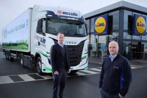 Lidl using bio-methane to power lorries