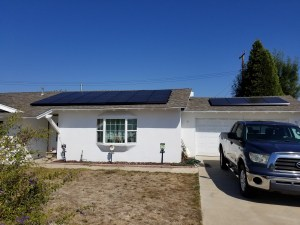 Solar on Composite Shingle Roof