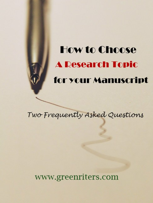 how to choose a research topic