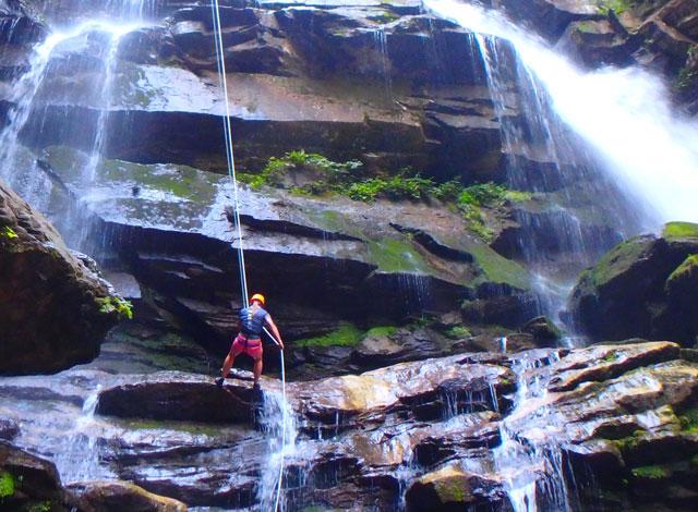 Big Bradley Waterfall  Green River Adventures