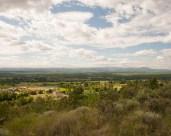 On the GR4 trail near Grospierre, Gard, France