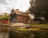 The Old Docks at Fordwich, River Stour, Kent, UK