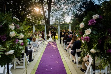 Outdoor Ceremony Site w Guests