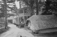 Rear View Green River Plantation House c. 1938