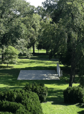 Front Lawn Outdoor Ceremony Site