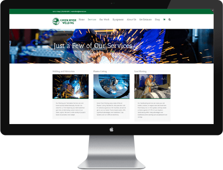 Green River Welding Website