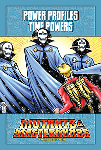 Mutants & Masterminds Power Profile: Time Powers