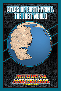 Atlas of Earth-Prime: The Lost World