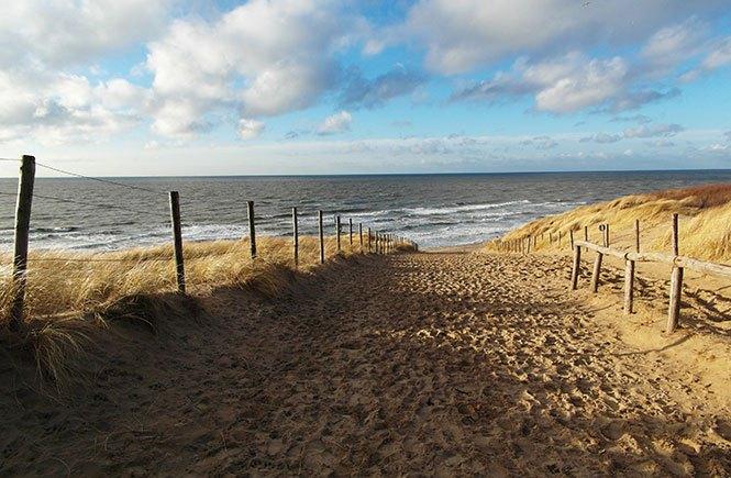 strand noordwijkerhout zon