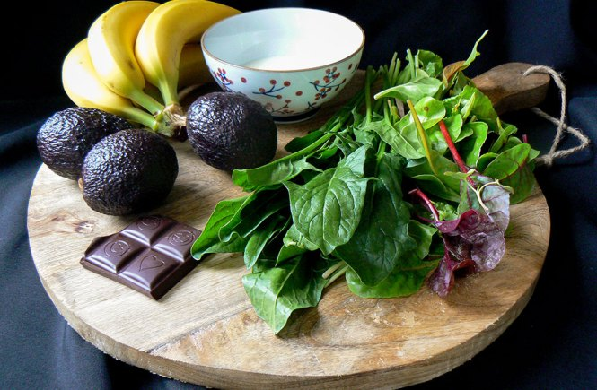 magnesiumrijk voedsel