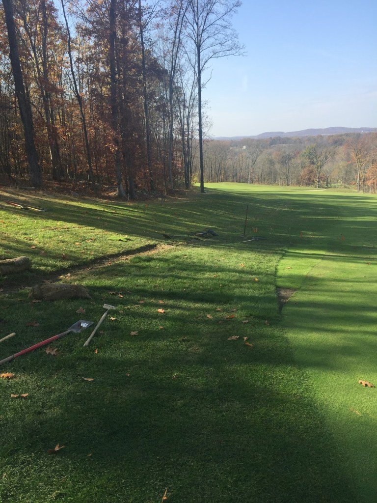 "Removing stone ""French drain right 5 approach"