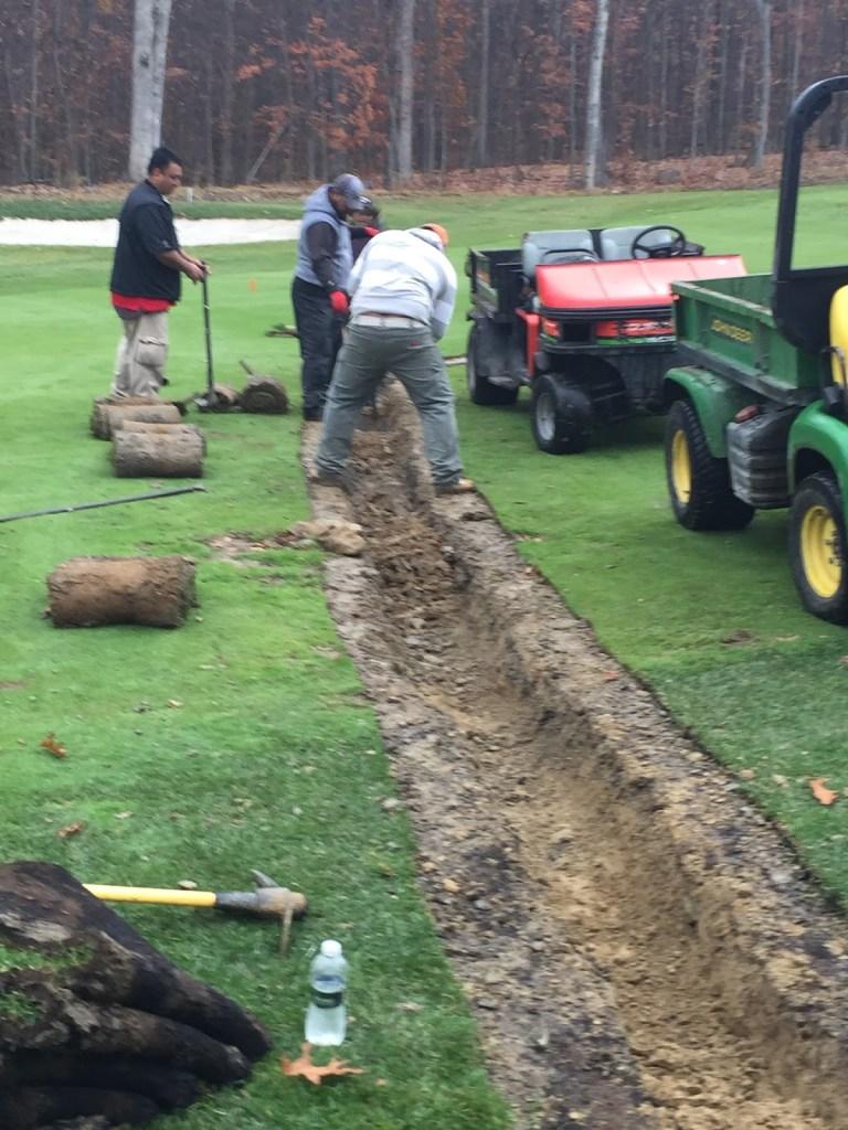 Drainage Installation #6