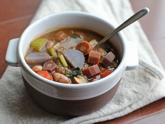 Warming, Comforting Vegan Vegetable Lentil Stew