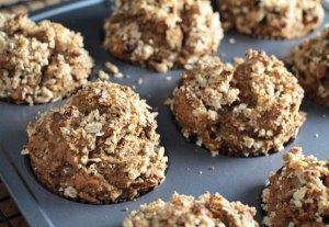 Vegan Pumpkin Muffins Fresh from the Oven