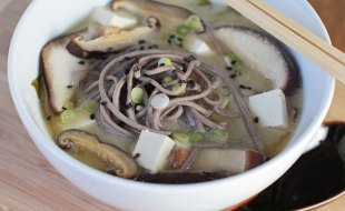 vegan miso soup recipe with soba noodles