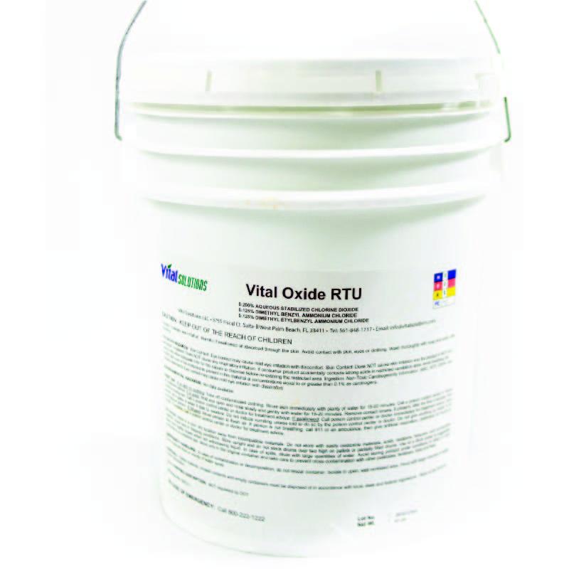 Vital Oxide - 1 Pail (5 Gallon))