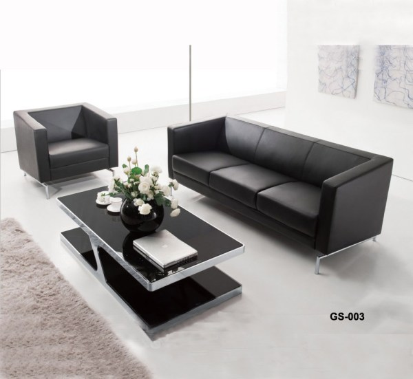 Office Sofa Set Black