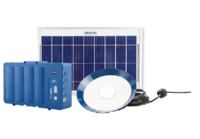 The Fosera PSHS 7500 system to provide power and light to your family or your business