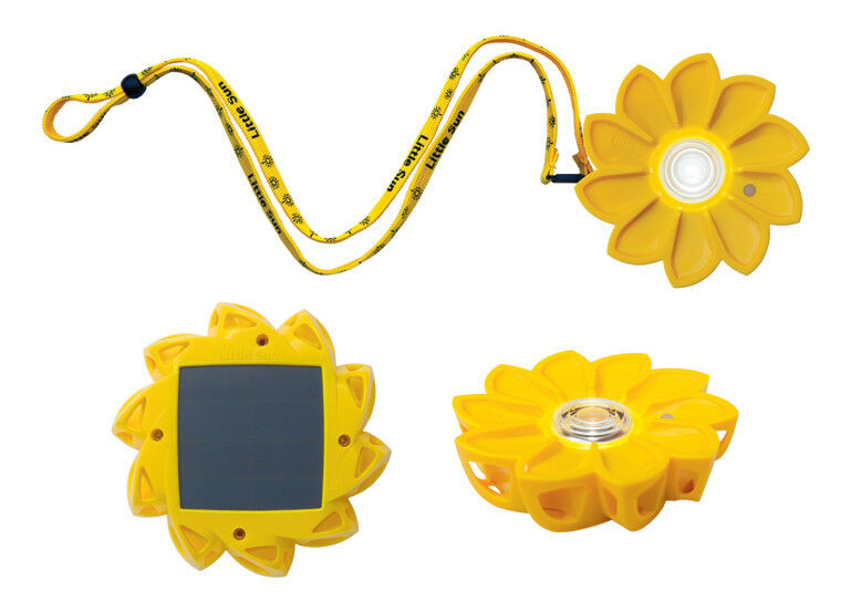 The Little Sun is our most affordable solar-powered light, providing up to 50 hours of light when fully charged to your family or your business