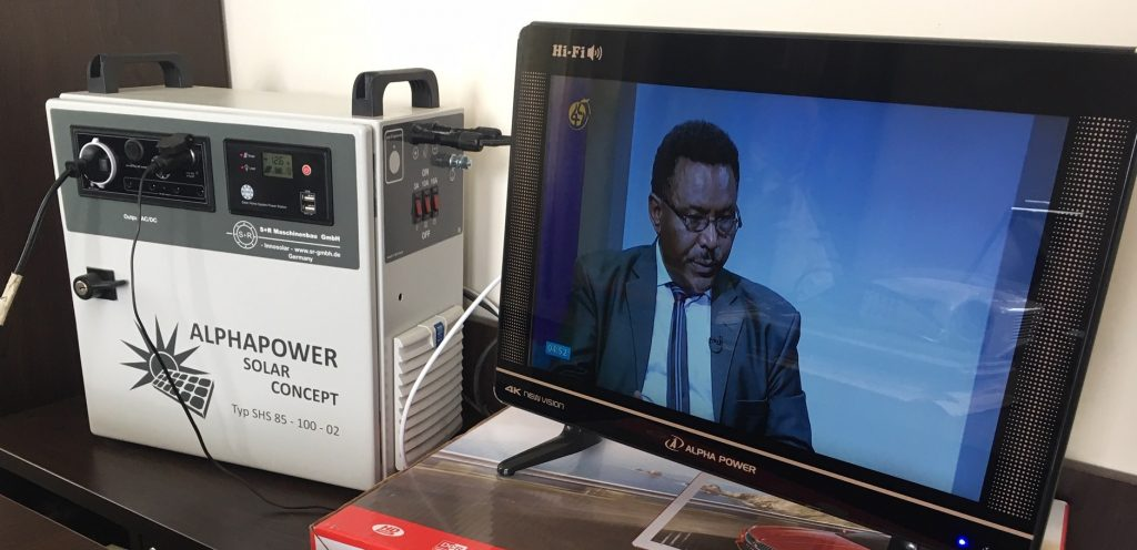 Solar TVs keep families in off-grid communities up-to-date with the latest information and broaden their children's horizons