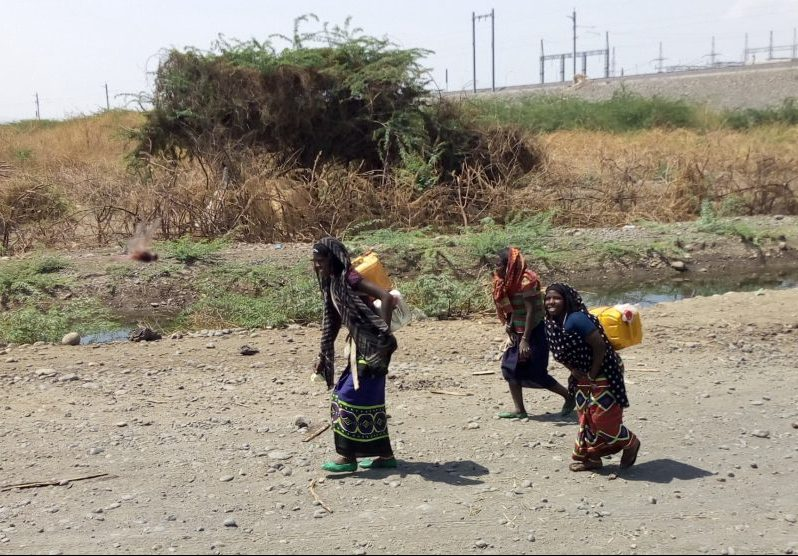Solar-powered water pumps will benefit 2,000 people in the arid Afar region