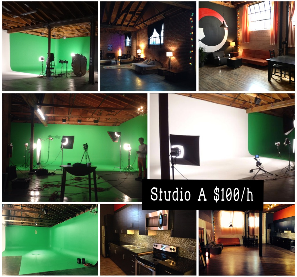 kitchen equipment rental los angeles industrial sink green screen studio white