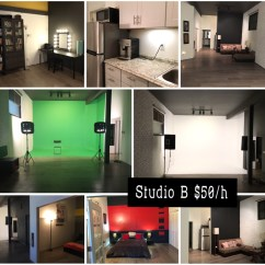 Kitchen Equipment Rental Los Angeles Used Island For Sale Green Screen Studio White