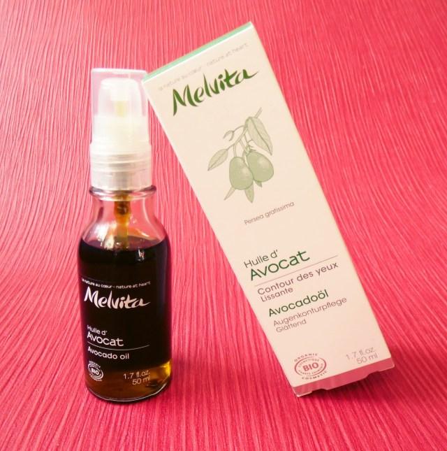 melvita Avocadoöl glättende Augenkonturpflege 1a