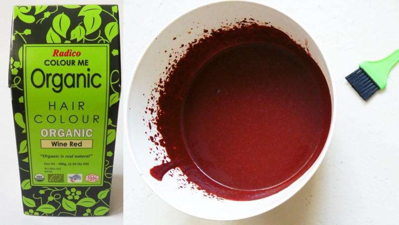 Radico Colour me Organic Wine Wed Henna