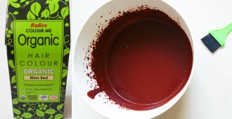 Radico Colour me Organic Wine Wed Henna