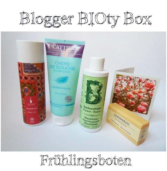 Blogger BIOty Box 2015 Frühlingsboten