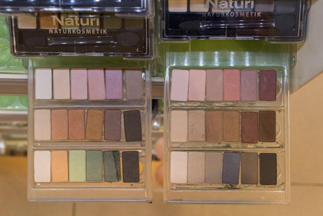 dekorative Kosmetik von Terra Naturi 2018 Lidschattenpaletten vegan