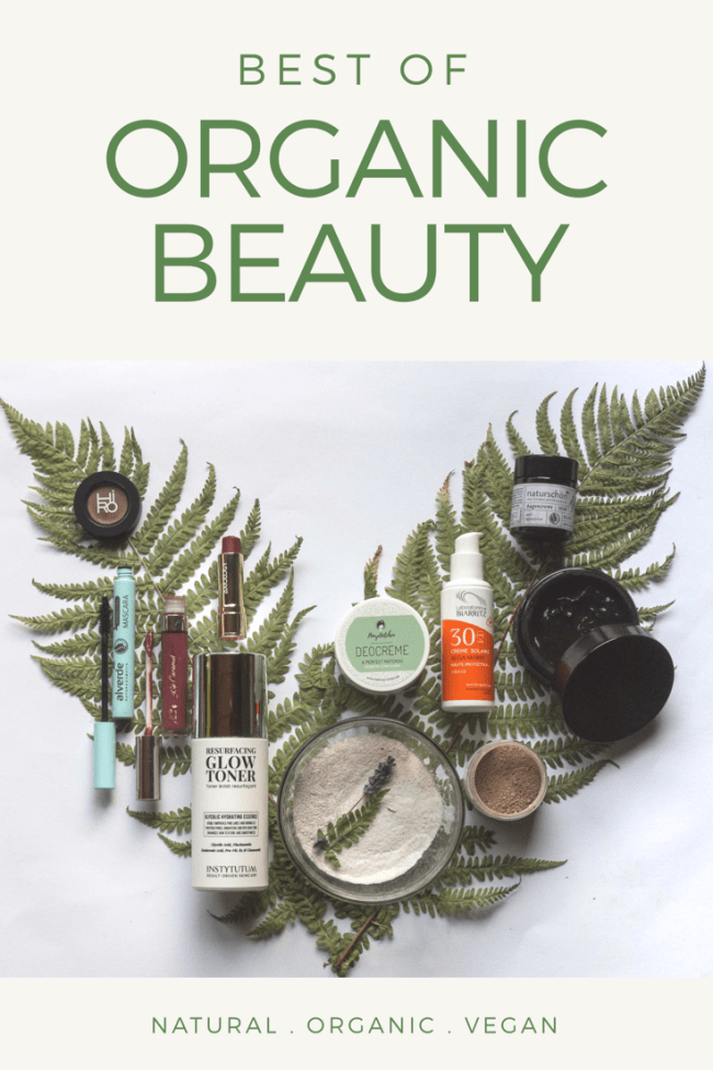 Best of organic beauty Naturkosmetik 2018