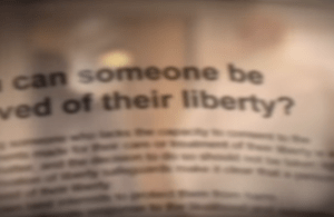 Deprivation of Liberty DOLS Training Introduction