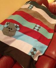 Cris' finished blanket