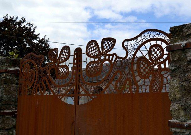 Borris House Lace Garden Gates