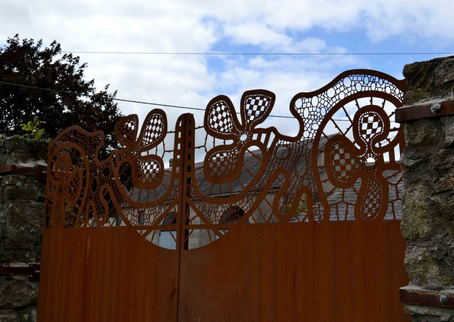 Borris House Lace Garden Gates
