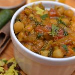 Chickpea curry recipe & glorious temples