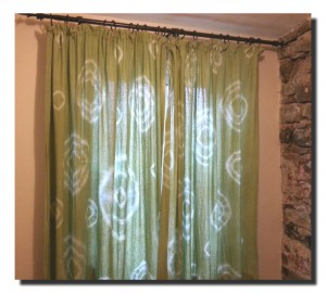 How to Make Tie Dye Curtains (for less than a tenner)