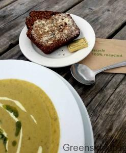 Vegetable Soup & Connacht Gold