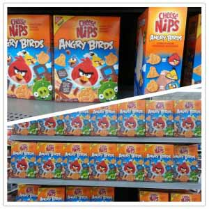 angry birds cereals