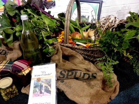 Greenside Up Display at Leighlin Parish Harvest Festival
