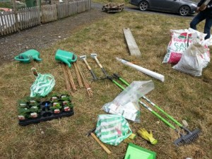 Ultimate start up kit for a community allotment