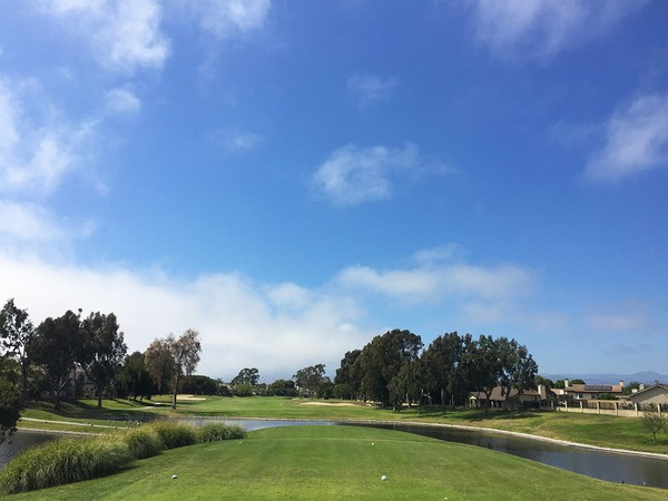 River Ridge Golf Course Oxnard California Hole 16 Tee Box