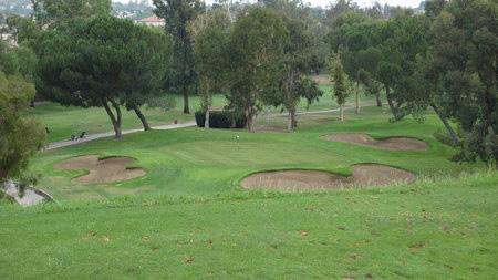 Vista Valencia Golf Course Valencia California Hole 14 Approach
