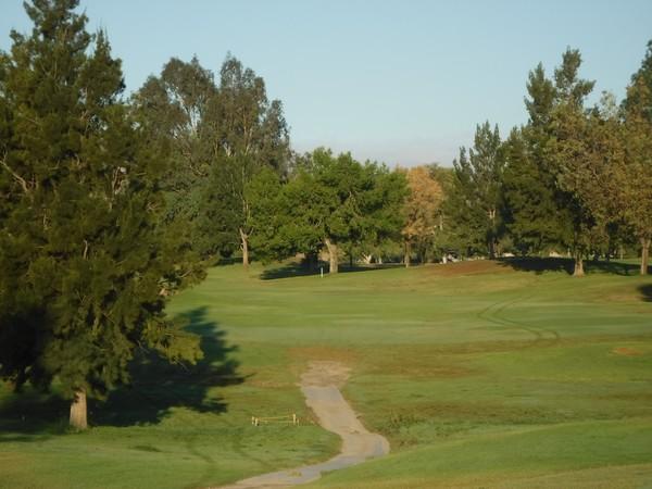 El Prado Golf Course (Butterfield Stage) Chino California  Hole 13 Par 4