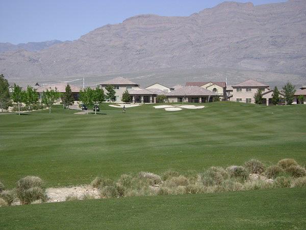 Aliante Golf Club North Las Vegas Nevada Hole 3 Approach