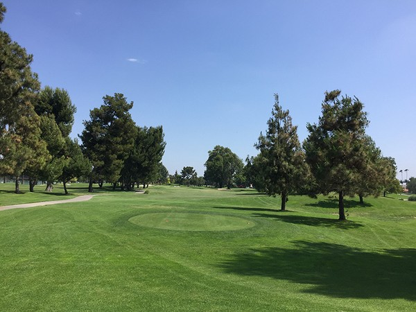Rio Hondo Country Club Downey California Hole 2 Tee Box