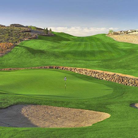 Anthem Revere Golf Club CONCORD Henderson Nevada Hole 18